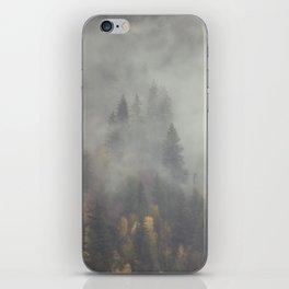 Foggy Elephant Mountain 2 iPhone Skin