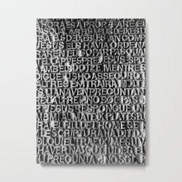La Sagrada Familia, Barcelona Metal Print