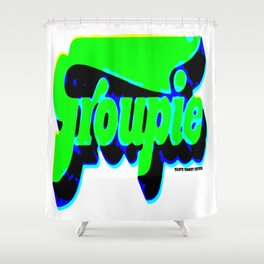 2KSD Groupie Unisex Shower Curtain