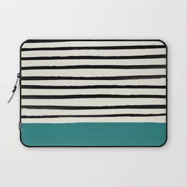 Teal x Stripes Laptop Sleeve