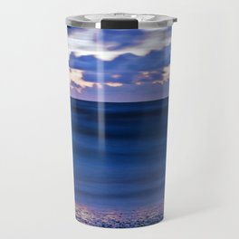 Blue Sound of the Danish Sea Travel Mug