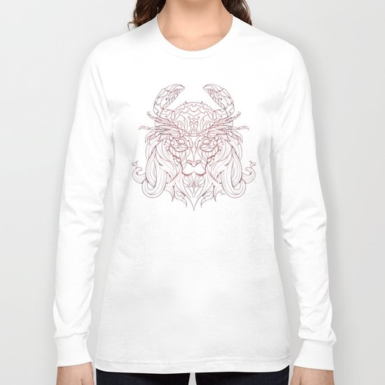 Lion Crab Long Sleeve T-shirt