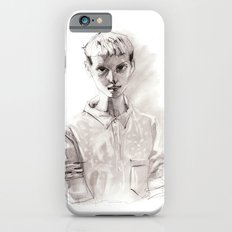 Girl Short Hair and  Shirt Slim Case iPhone 6s