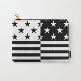 HIPSTERS (BLACK-WHITE) Carry-All Pouch