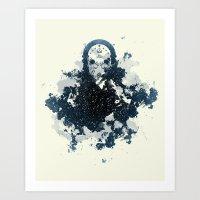 To Moria Art Print