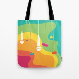 Rainbow Daydreaming Tote Bag