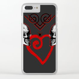 Eternally Yours Clear iPhone Case