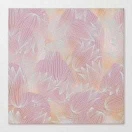 Pastel Pattern Canvas Print