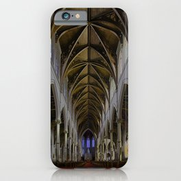 CATHEDRAL OF THE HOLY CROSS, BOSTON MA iPhone Case