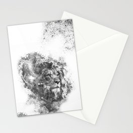 lion's gate galaxy Stationery Cards