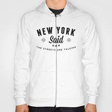 New York Said Hoody