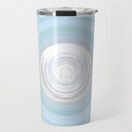 Ebb and Flow - Aqua Travel Mug
