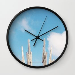 Bolt Out of the Blue Wall Clock