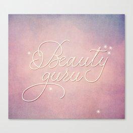 Beauty Guru Canvas Print