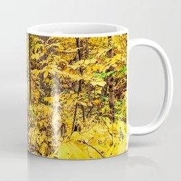 a path of yellow Coffee Mug