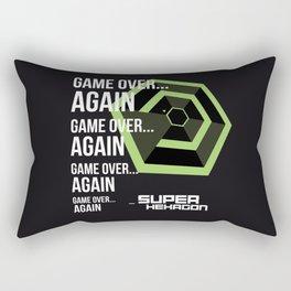SUPER HEXAGON Rectangular Pillow