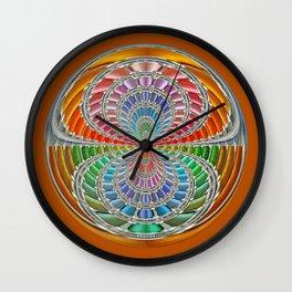 Binary colours Wall Clock