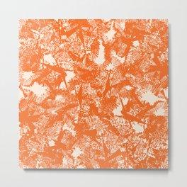 Minimal Shapes Peach Orange Skintones Abstract Pattern Digital Art Print Art Print Metal Print