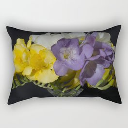 Cupertino's Fragrant Freesias Rectangular Pillow