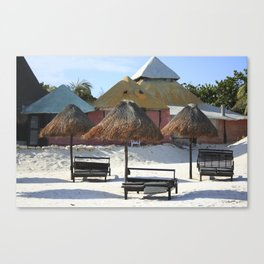 Carribean sea 16 Canvas Print