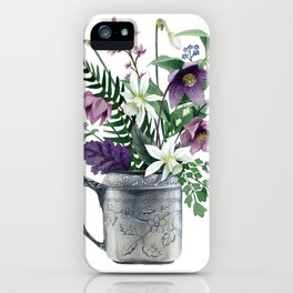 Butterfly Bouquet iPhone Case