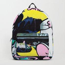 Pinky Graffiti Backpack