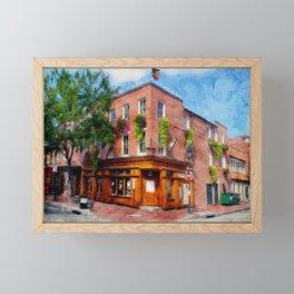 Max's Tap House, Fells Point, Baltimore, Maryland  Framed Mini Art Print