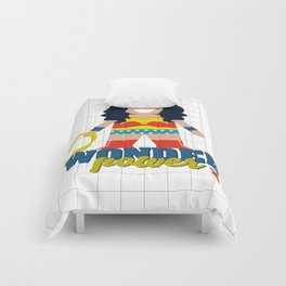 Wonder Power Woman Comforters