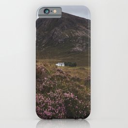 The moorland house - Landscape and Nature Photography iPhone Case
