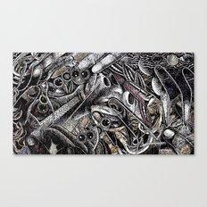 Mind Frame (Still Frame 3) Canvas Print