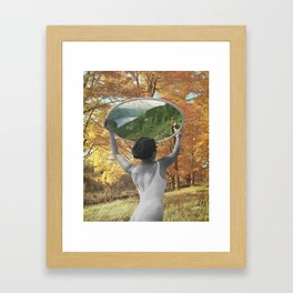 We'll Be Reunited Someday Framed Art Print