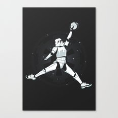 JUMPMAN TROOPER Canvas Print