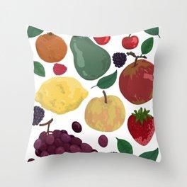 Fruity Throw Pillow