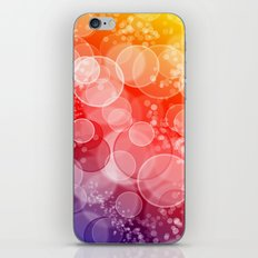 Party Bubbles iPhone & iPod Skin