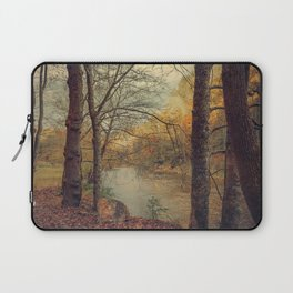 Over the River Through the Woods Laptop Sleeve