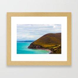 Hidden Cove House Framed Art Print