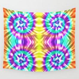 Colorful Batik Pattern II Wall Tapestry