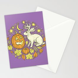 Halloween Friends | Spooky Brights Palette Stationery Cards