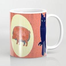 Owl & Pig Mug