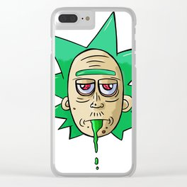 Just Rick (without Morty) Clear iPhone Case