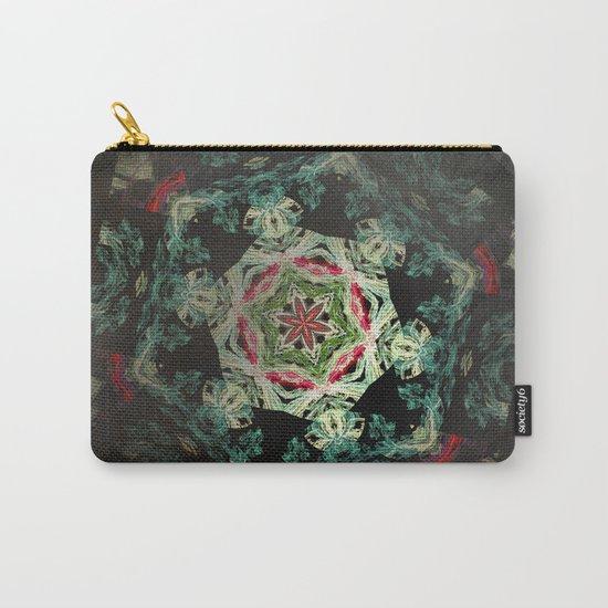 Dark forest mosaic kaleidoscope Carry-All Pouch