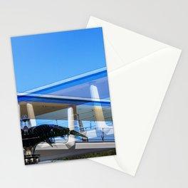 Metallic Palm Stationery Cards