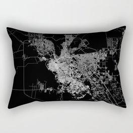 El Paso map Rectangular Pillow