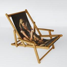 JUDITH BEHEADING HOLOFERNES - GENTILESCHI Sling Chair