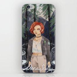 90s Dana Scully iPhone Skin