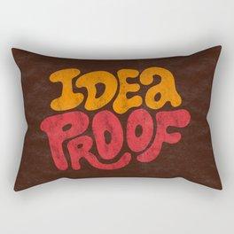 Idea Proof! Rectangular Pillow