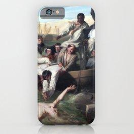 John Singleton Copley Watson and the Shark iPhone Case