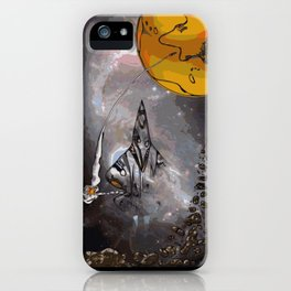 Stealth Bomber Simplified iPhone Case