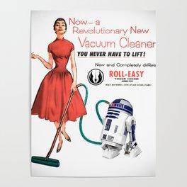 R2D2 Vacuum Poster