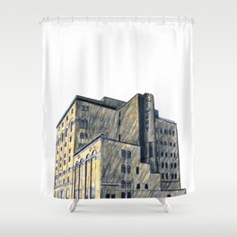 DOW BREWERY Shower Curtain